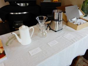 SEROW coffee 珈琲グッズも取り揃えています