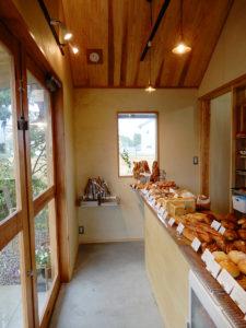 のぼの職人村のパン屋 土の香 店内