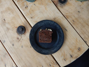 conges payesのチョコレートケーキ