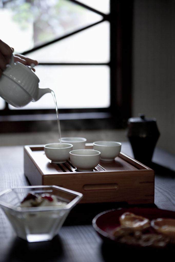 四日市の町家スタジオ侶居 茶藝を楽しむ会